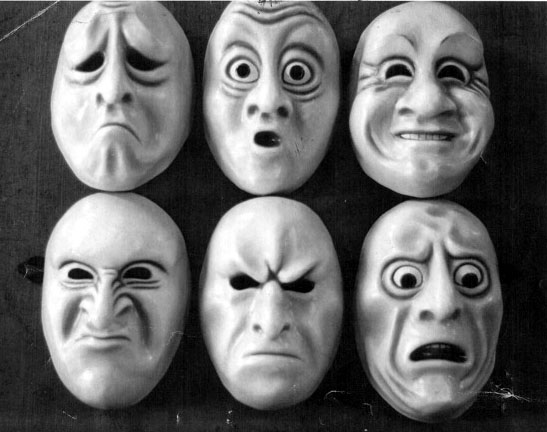 Brain studies of facial expression