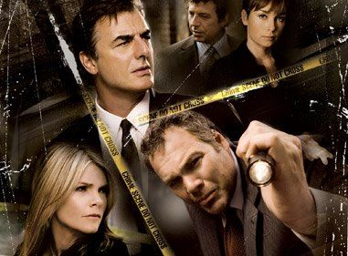 Collage of TV Crime Drama Detectives
